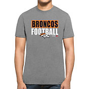 '47 Men's Denver Broncos Club Grey T-Shirt