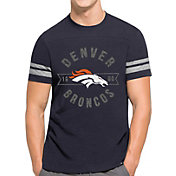 '47 Men's Denver Broncos Downfield Navy T-Shirt
