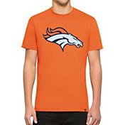 '47 Men's Denver Broncos Knockout Fieldhouse Applique T-Shirt