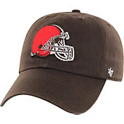 '47 Men's Cleveland Browns Franchise Brown Fitted Hat