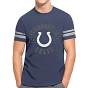 '47 Men's Indianapolis Colts Downfield Blue T-Shirt