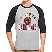 '47 Men's Arizona Cardinals Lockdown Raglan Grey Shirt