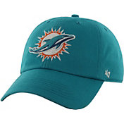 '47 Men's Miami Dolphins Franchise Fitted Aqua Hat