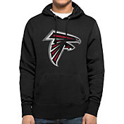 '47 Men's Atlanta Falcons MVP Headline Pullover Black Hoodie