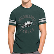 '47 Men's Philadelphia Eagles Downfield Green T-Shirt