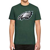 '47 Men's Philadelphia Eagles Knockout Fieldhouse Applique T-Shirt