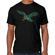 '47 Men's Philadelphia Eagles Throwback Scrum Logo T-Shirt