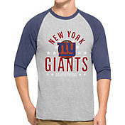 '47 Men's New York Giants Lockdown Raglan Grey Shirt