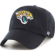 '47 Men's Jacksonville Jaguars Black Clean Up Adjustable Hat