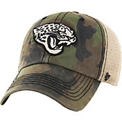 '47 Men's Jacksonville Jaguars Burnett Adjustable Camouflage Hat