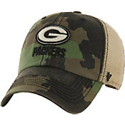 '47 Men's Green Bay Packers Burnett Adjustable Camouflage Hat