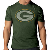 '47 Men's Green Bay Packers Scrum Logo T-Shirt