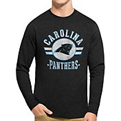'47 Men's Carolina Panthers Club Long Sleeve Shirt