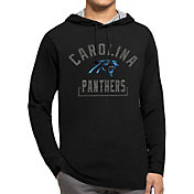 '47 Men's Carolina Panthers Downfield Black Hoodie