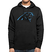 '47 Men's Carolina Panthers MVP Headline Pullover Black Hoodie