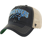 '47 Men's Carolina Panthers Vintage Tuscaloosa Black Adjustable Hat