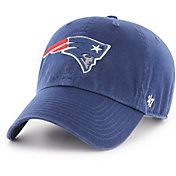 '47 Men's New England Patriots Navy Clean Up Adjustable Hat