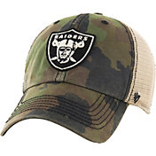 '47 Men's Oakland Raiders Burnett Adjustable Camouflage Hat