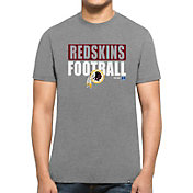 '47 Men's Washington Redskins Club Grey T-Shirt