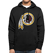 '47 Men's Washington Redskins MVP Headline Pullover Black Hoodie