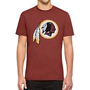 '47 Men's Washington Redskins Knockout Fieldhouse Applique T-Shirt