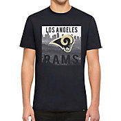 '47 Men's Los Angeles Rams L.A. Background Navy T-Shirt