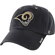 '47 Men's Los Angeles Rams Ice Adjustable Navy Hat
