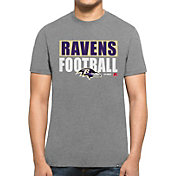 '47 Men's Baltimore Ravens Club Grey T-Shirt