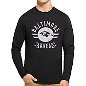'47 Men's Baltimore Ravens Club Long Sleeve Shirt