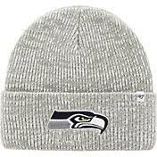 '47 Men's Seattle Seahawks Brain Freeze Grey Knit Beanie