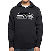 '47 Men's Seattle Seahawks MVP Headline Pullover Navy Hoodie