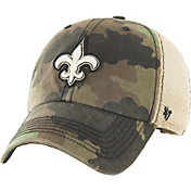 '47 Men's New Orleans Saints Burnett Adjustable Camouflage Hat