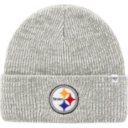 '47 Men's Pittsburgh Steelers Brain Freeze Grey Knit Beanie
