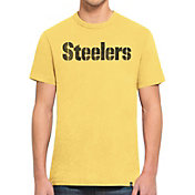 '47 Men's Pittsburgh Steelers Scrum Wordmark T-Shirt