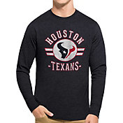 '47 Men's Houston Texans Club Long Sleeve Shirt