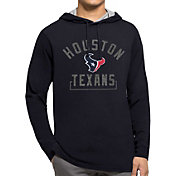 '47 Men's Houston Texans Downfield Navy Hoodie