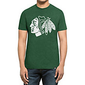 '47 Men's St. Patty's Day Chicago Blackhawks Club Logo T-Shirt