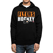 '47 Men's Philadelphia Flyers Headline Pullover Black Hoodie