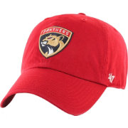 '47 Men's Florida Panthers Clean Up Red Adjustable Hat