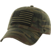 '47 Men's USA Operation Hat Trick Movement Clean Up Tonal Camo Adjustable Hat