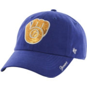 '47 Women's Milwaukee Brewers Sparkle Royal Adjustable Hat