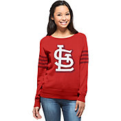 '47 Women's St. Louis Cardinals Drop Needle Red Sweater