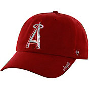 '47 Women's Los Angeles Angels Sparkle Red Adjustable Hat