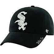 '47 Women's Chicago White Sox Sparkle Black Adjustable Hat