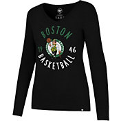 '47 Women's Boston Celtics Splitter Long Sleeve Shirt