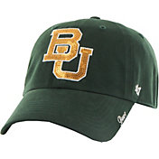 '47 Women's Baylor Bears Green Sparkle Clean-Up Adjustable Hat