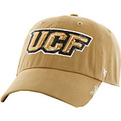 '47 Women's UCF Knights Gold Sparkle Clean-Up Adjustable Hat
