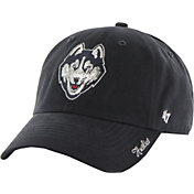 '47 Women's UConn Huskies Blue Sparkle Clean-Up Adjustable Hat