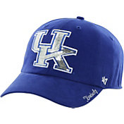 '47 Women's Kentucky Wildcats Blue Clean Up Sparkle Adjustable Hat
