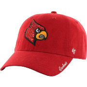 '47 Women's Louisville Cardinals Clean Up Sparkle Cardinal Red Adjustable Hat